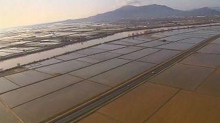 یورش طوفان گلوریا به شهرهای اسپانیا