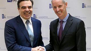 Παρουσία Μαργαρίτη Σχοινά η υπογραφή συμφωνίας Δημόκριτου-Ευρωπαϊκής Τράπεζας Επενδύσεων