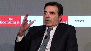 Ο αντιπρόεδρος της Ευρωπαϊκής Επιτροπής αρμόδιος για την Προώθηση του Ευρωπαϊκού Τρόπου Ζωής, Μαργαρίτης Σχοινάς