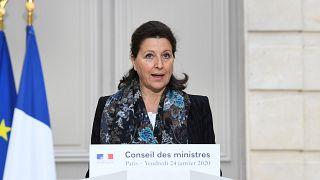 وزيرة الصحة الفرنسية، أنياس بوزان