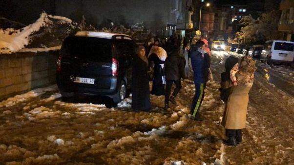 زمین لرزه در شرق ترکیه قربانی گرفت