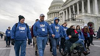 Trump asiste a la marcha antiaborto más importante de Estados Unidos y aprovecha para recabar votos