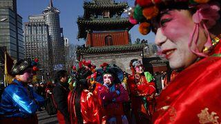 Çin'de yeni yıl kutlamaları