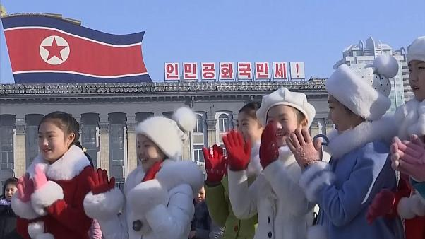 North Korea celebrates Lunar New Year with tributes to its leaders