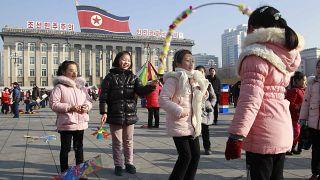 Ano Novo Lunar festejado na Coreia do Norte