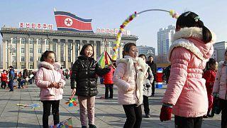 برگزاری جشن سال نوی قمری در کره شمالی