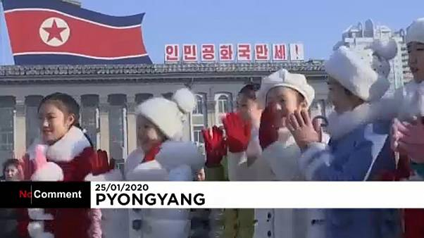 Neujahrsfeierlichkeiten in Nordkorea