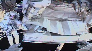 شاهد: رائدا فضاء يصلحان نظام التبريد على متن المحطة الفضائية الدولية