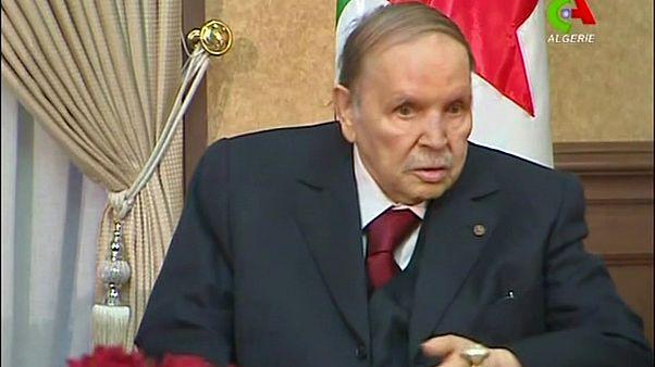 الرئيس الجزائري المستقيل عبد العزيز بوتفليقة