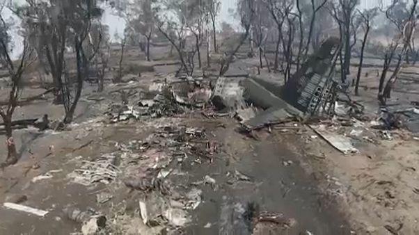 Recuperados corpos de tripulantes de avião de combate a incêndios