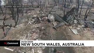 Australien: Drei Feuerwehrleute sterben beim Absturz einen Löschflugzeugs