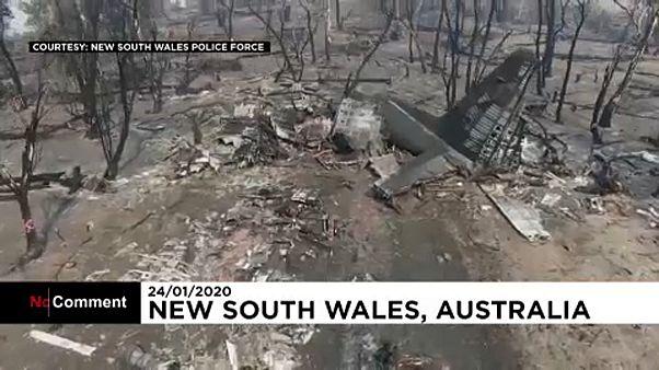 В Австралии разбились американские воздушные пожарные