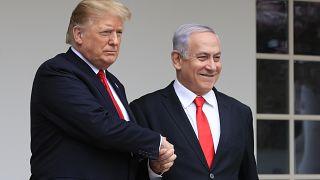 """ABD Başkanı Trump: 'Orta Doğu'ya barış planı """"Yüzyılın Anlaşması""""nı gelecek salı açıklayacağım'"""