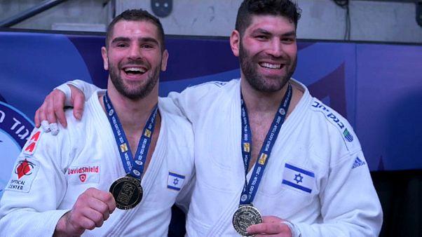 دو جودکار طلایی اسرائیل در گرند پری تل آویو
