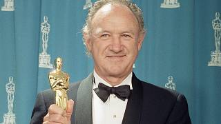 Actor Gene Hackman, winner of Best Supporting Actor at academy awards in March 1993. (AP Photo)