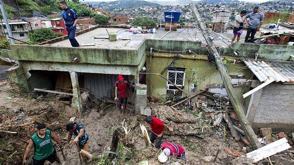 فيديو: مصرع 37 شخصاً جراء عاصفة عاتية جنوب شرق البرازيل