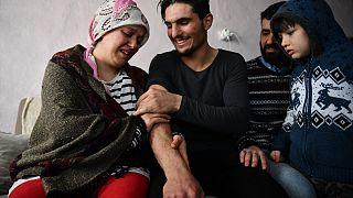 Suriyeli gençle enkazdan çıkardığı Elazığlı çift buluştu: O bizim Hızır'ımız
