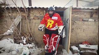 Первые хоккеистки Киргизии