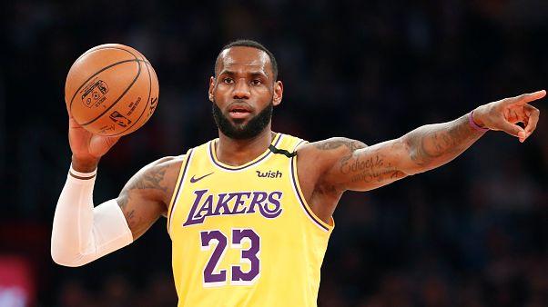 NBA : Lebron James devient le troisième meilleur marqueur de l'histoire