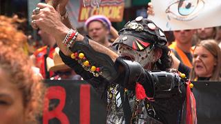 Watch: Indigenous Australians hold 'Invasion Day' rally in Melbourne