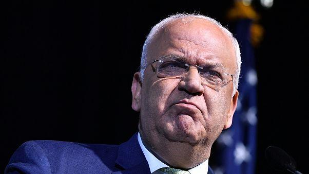FKÖ Genel Sekreteri Saeb Erakat: 'Trump Orta Doğu planını açıklarsa Oslo Anlaşması'ndan çekiliriz'