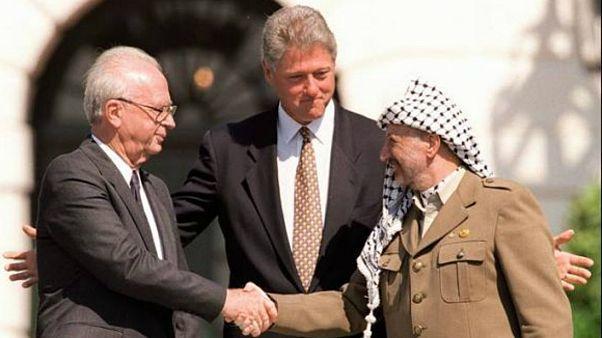 توافق اسلو میان فلسطین و اسرائیل