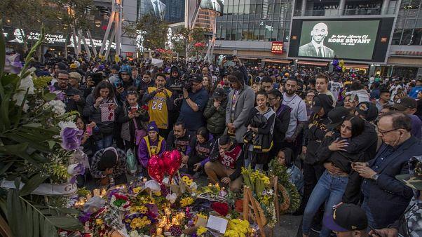 Basketball-Star Kobe Bryant und Tochter (13) bei Hubschrauberabsturz getötet