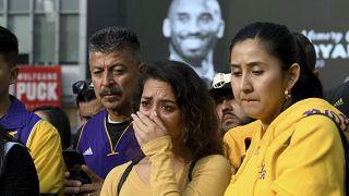 Conmoción en Estados Unidos y en el deporte mundial por la muerte de Kobe Bryant