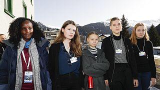 Vanessa Nakate, die Klimaaktivistin, die auf dem Foto fehlte