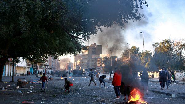 Rakéta csapódott az amerikai nagykövetségbe Bagdadban