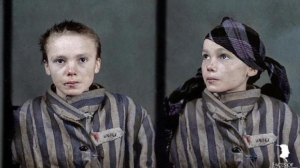 'They are no longer numbers or statistics.' How colour pictures are bringing Auschwitz to life