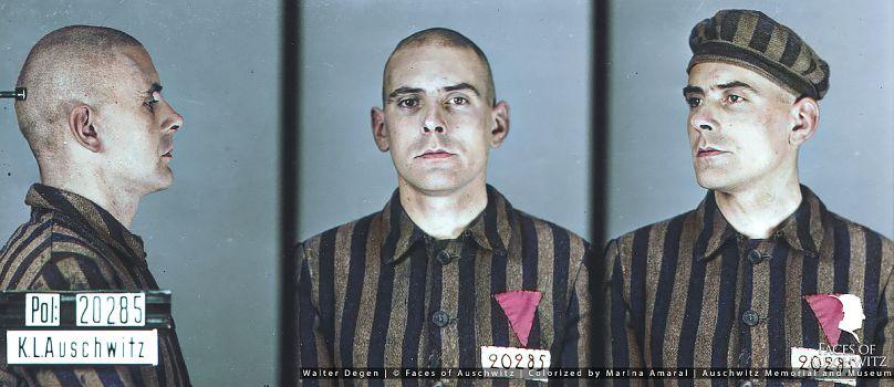 Marina Amaral/Faces of Auschwitz/Auschwitz Memorial and Museum
