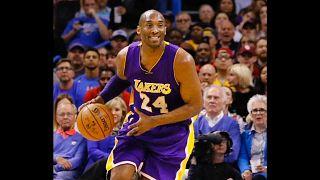 Kobe Bryant auf dem Basketballfeld