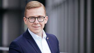 Philipp Amthor am 26.06.17 in Berlin im Deutschen Bundestag.
