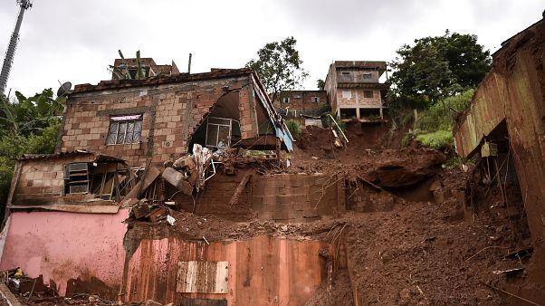 Βραζιλία: Τεράστιες καταστροφές από τις βροχοπτώσεις