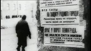 Homenagear as vítimas do cerco a Leninegrado
