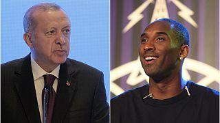 Erdoğan'dan Kobe Bryant'ın ailesi ve sevenlerine taziye mesajı
