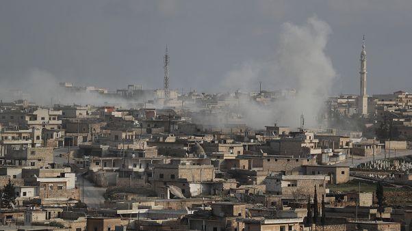 قوات النظام السوري على وشك السيطرة على ثاني أكبر مدن محافظة إدلب