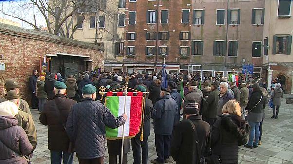 Venezia ricorda l'olocausto nel vecchio ghetto