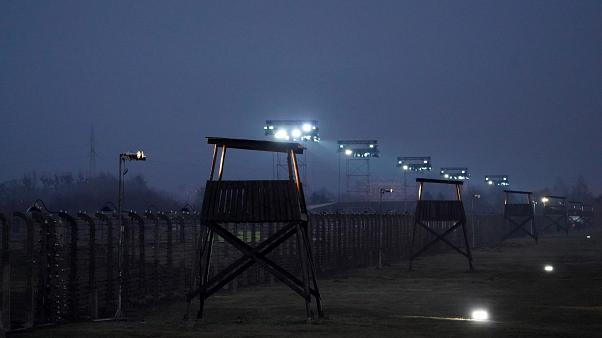 Former Auschwitz prisoners gathered to commemorate the Holocaust, 75 years after liberation