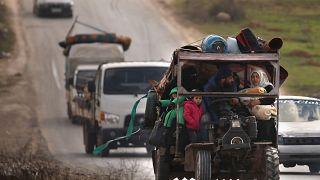 Μάαρετ αλ Νουμάν: Σφοδρές μάχες - Χιλιάδες εγκαταλείπουν την πόλη