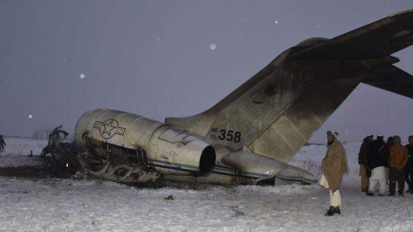 البنتاغون يؤكد تحطم طائرة عسكرية في أفغانستان نافياً أن تكون طالبان أسقطتها