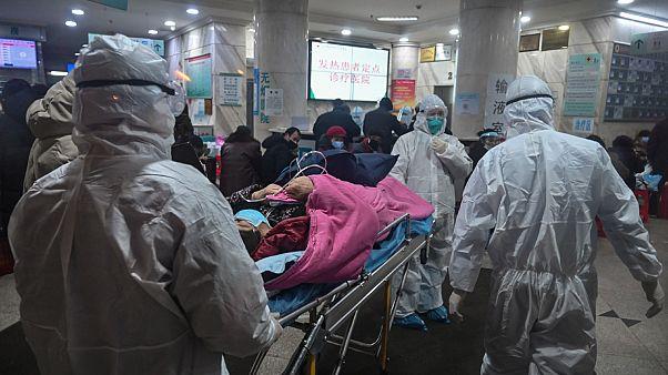 Patient pris en charge par un hôpital de Wuhan, le 25 janvier 2020