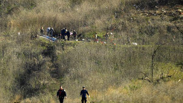Kobe Bryant helikopter kazasında hayatını kaybetti