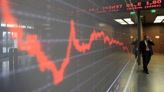 Χρηματιστήριο Αθηνών: Βουτιά 9% στο άνοιγμα ελέω κορωνοϊού