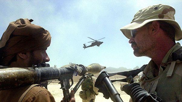 آمریکا رکورد بمبهای ریخته شده در افغانستان را شکست