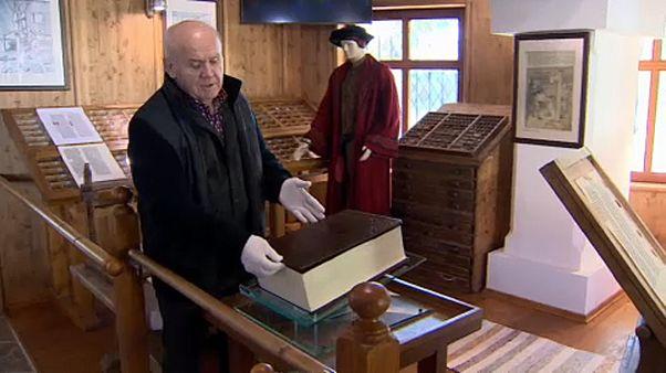 Gutenberg-biblia készült egy borsodi faluban