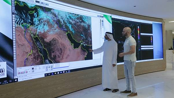 Majed Alshkeili, the Head of Marine Forecast at the UAE, speaks to Euronews reporter Salim Essaid about the local weather and its impact on health