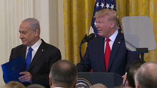 Trump propone como plan de paz para Oriente Medio crear dos Estados con Jerusalén dentro de Israel