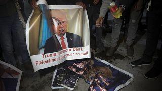 """Controversia por el plan de Trump para Oriente Medio: """"Mil noes"""", responde Palestina"""